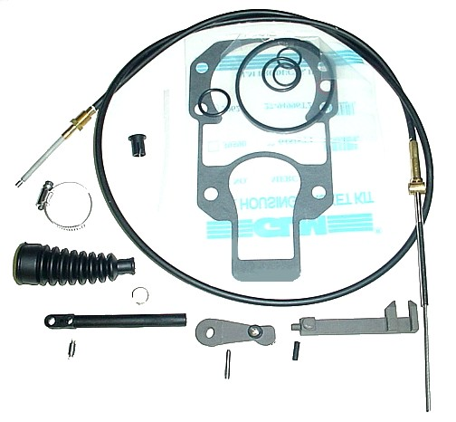MerCruiser Shift Cable Parts - Alpha & Bravo